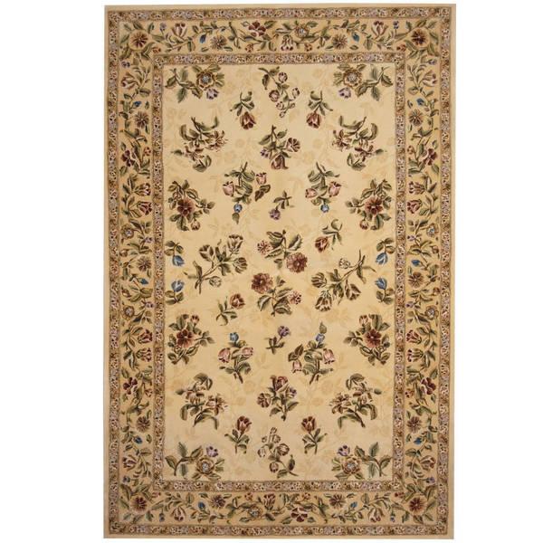 Herat Oriental Indo Hand-tufted Tibetan Wool Rug (5'9 x 8'9) - 5'9 x 8'9 18323315