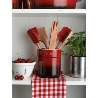 Denby Cook and Dine Seven-piece Cherry Gadget Set