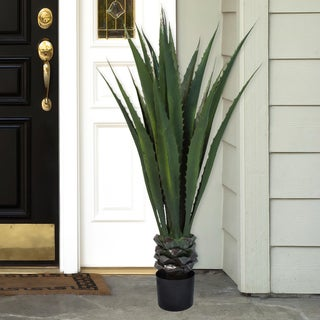 Pure Garden 52-inch Giant Agave Floor Plant