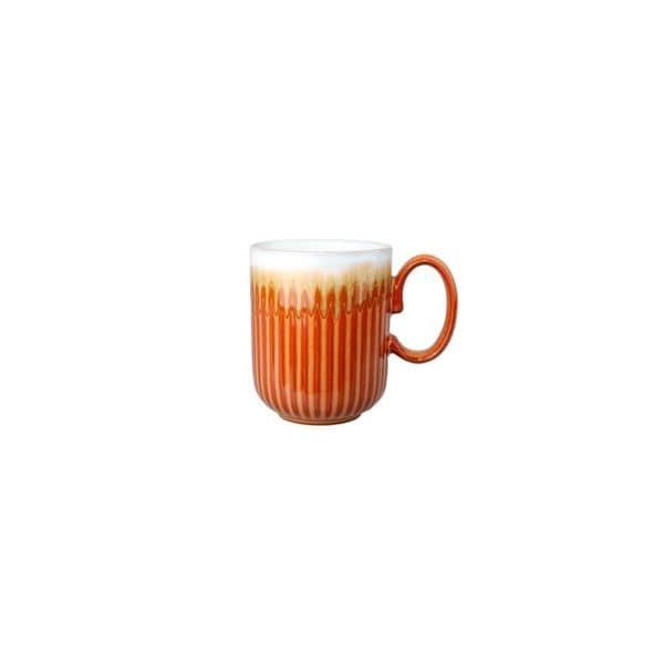 Denby Fire Fluted Mug