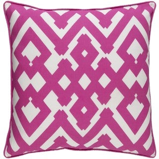 Decorative Esme 22-inch Down or Poly Filled Throw Pillow