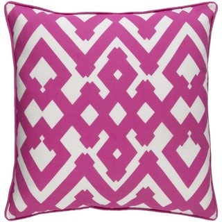 Decorative Esme 20-inch Down or Poly Filled Throw Pillow