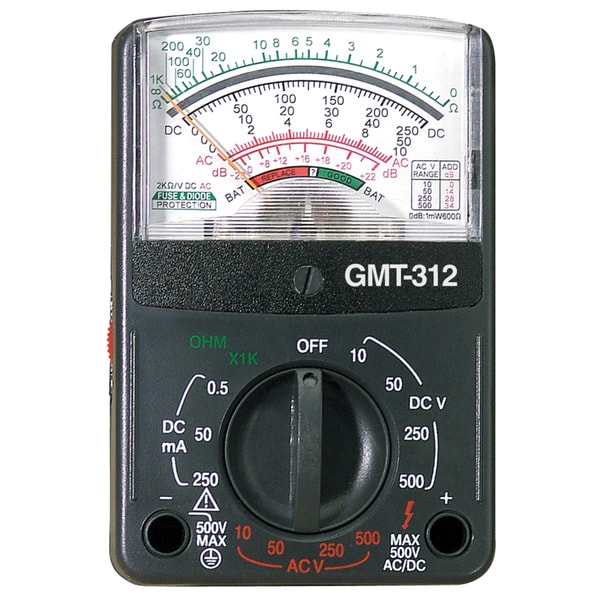 GB Gardner Bender GMT-312 12 Range Pocket Multimeter