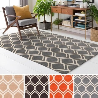 Hand Tufted Gower Wool Rug (8' x 10')