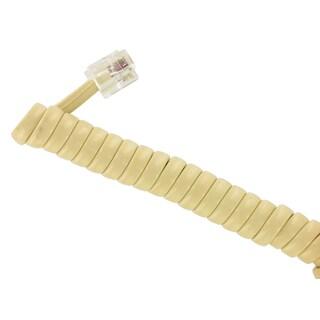 Leviton 835-C2407-25I 25' Ivory Handset Cord