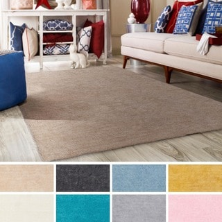 Meticulously Woven Nueve Polyester Rug (3' x 5')