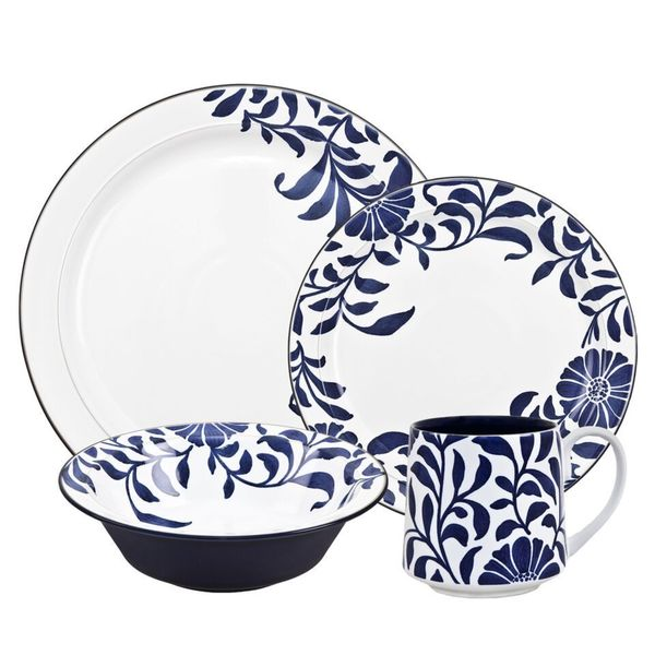 Denby Malmo Bloom 4-piece Placesetting 18325603