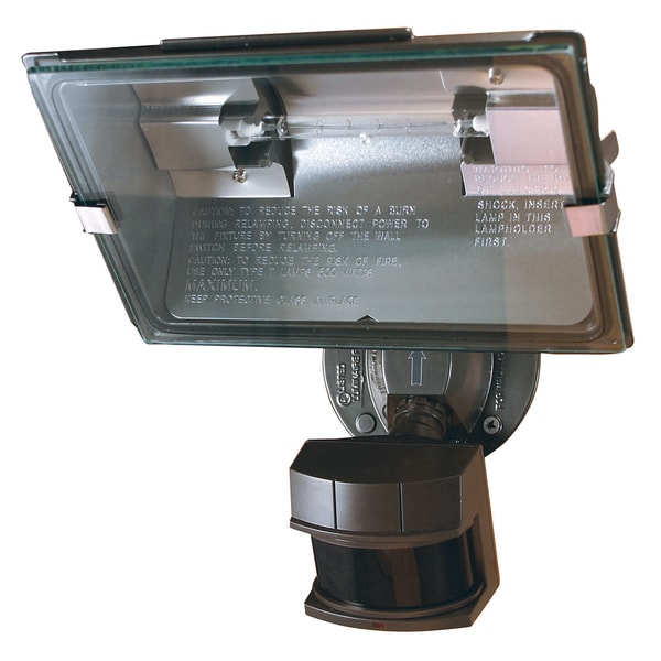 Heathco Hz-5311-bz Bronze Dual Brite Motion Sensor Quartz Security Light
