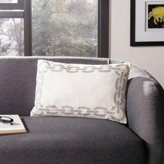 Safavieh Sibine 20-Inch Cement Decorative Throw Pillow (Set of 2)
