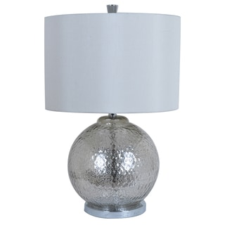 Crestview Collection 26-inch Mercury Table Lamp