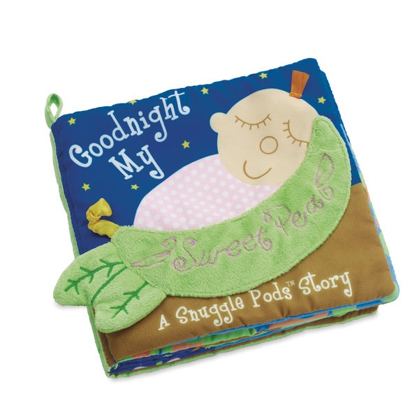 Manhattan Toy Snuggle Pods 'Goodnight My Sweet Pea' Soft Activity Book 18328378