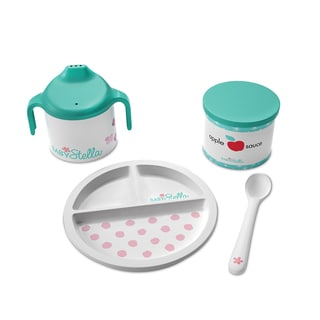 Manhattan Toy Baby Stella - Darling Dish Set Doll Accessory