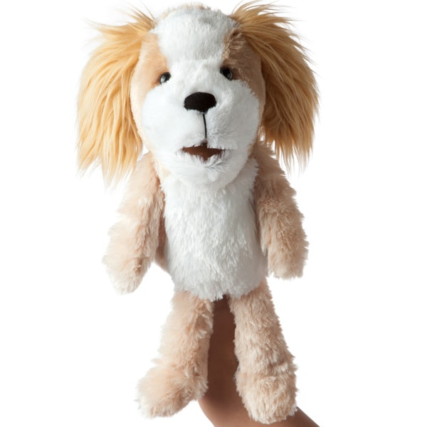 Manhattan Toy Paw-rrifics Dog Hand Puppet