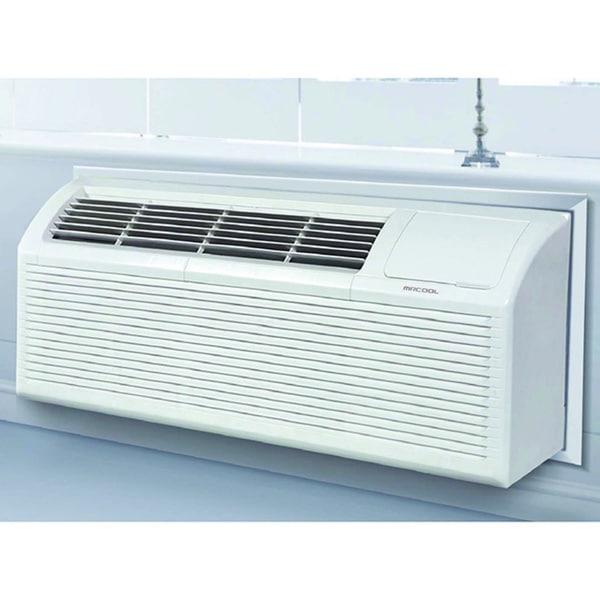 MRCOOL 15K BTU 9.5 EER Package Terminal Air Conditioning with 3.5-kilowatt Electric Heat 18328458