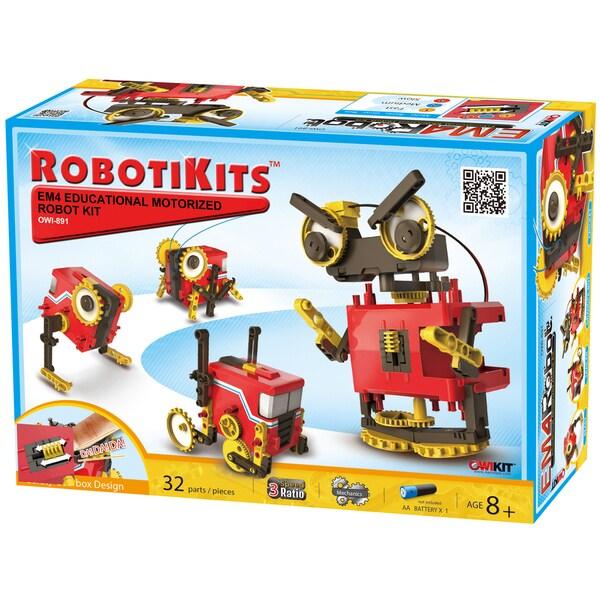 Robotikits EM4 Educational Motorized Robot Kit