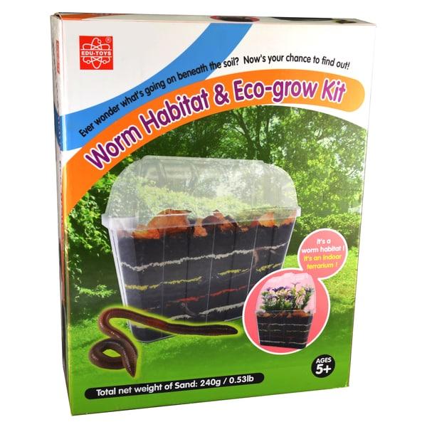 EDU-Toys Worm Habitat