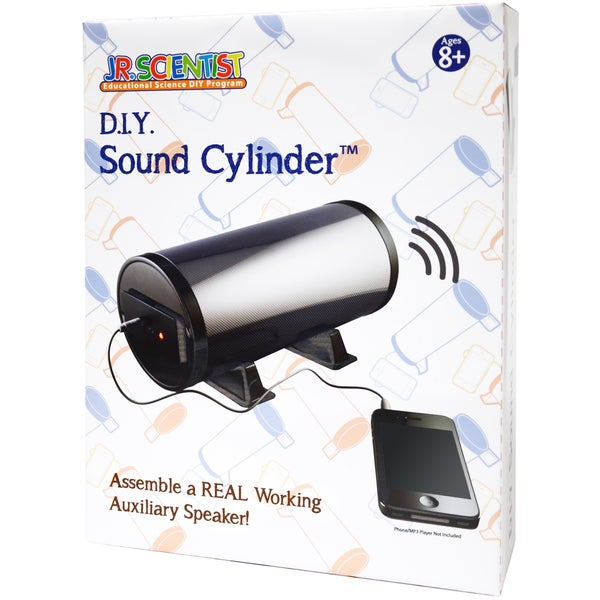 Edu-Toys Do-It-Yourself Sound Cylinder Kit