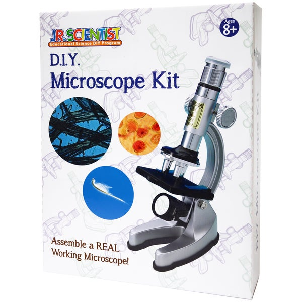 EDU-TOYS Do-It-Yourself Microsope Kit