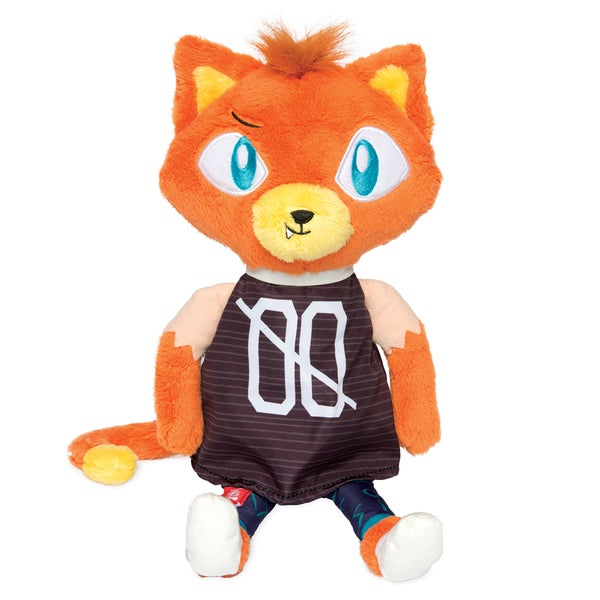 Manhattan Toy Alley Cat Club Benny 14-inch Plush Toy