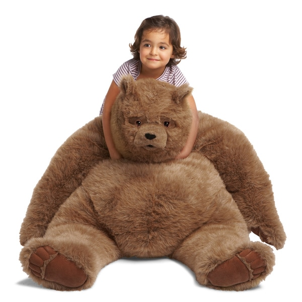 Manhattan Toy Kodiak Bear Jumbo Plush Toy