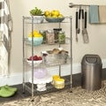 Safavieh Gaston 4-tier Chrome Wire Mini Rack
