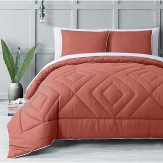 RBX Coral 3-piece Comforter Set