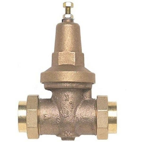 Wilkins Lead-free Double-union FNPT Pressure-reducing Valve