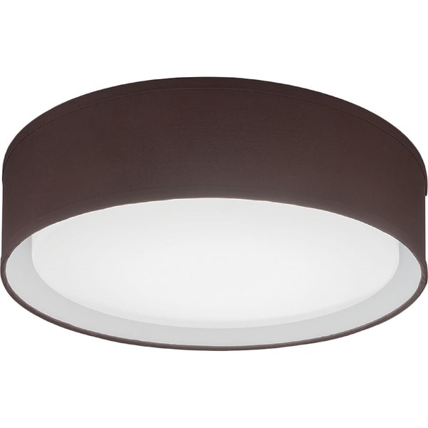 Lithonia Lighting FMABFL 16 20830 F20 M4 Aberdale LED 3000K Flush Mount Brown 16-inch Round Ceiling Light