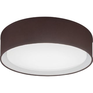 Lithonia Lighting Aberdale Brown 16-inch 3000K LED Flush-mount Light Fixture