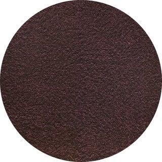 Indo Hand-woven Shanghai Mix Brown Rug (3' Round)