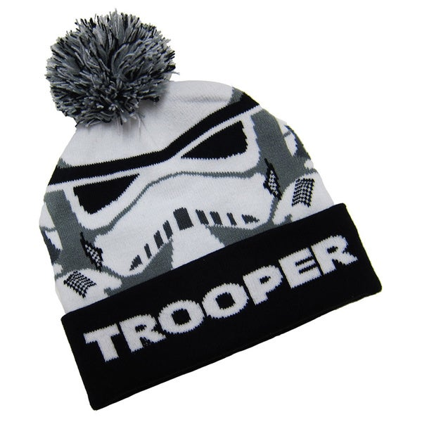 Star Wars Storm Trooper Pom Pom Beanie