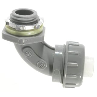 Halex 27691 90 Nylon Liquid-Tight Connector