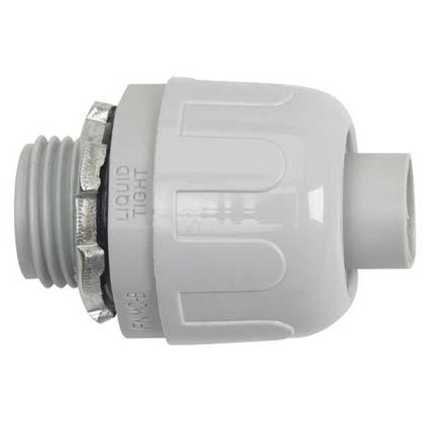 "Halex 27622 3/4"" Liquid-Tight Connector"