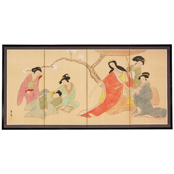 Ladies in the Afternoon Silkscreen (China)