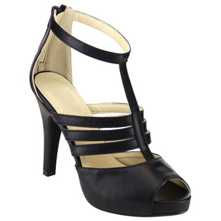 Beston Ankle Strap Heels