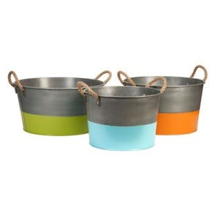 Chelsey Round Tubs (Set of 3)