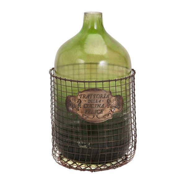 Caged Glass Jug 18332528
