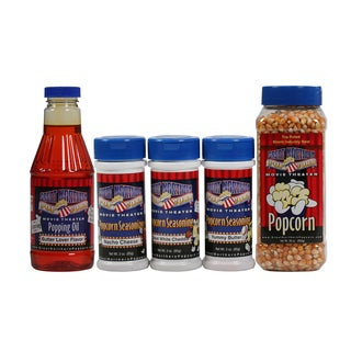 Great Northern Popcorn Theater Popping Kit With Seasoning Assortment