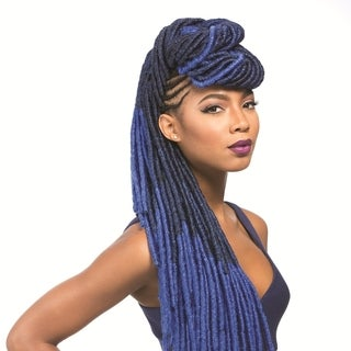 Sensationnel Synthetic Hair African Collection Faux Locks 20-Inch Crochet Braids