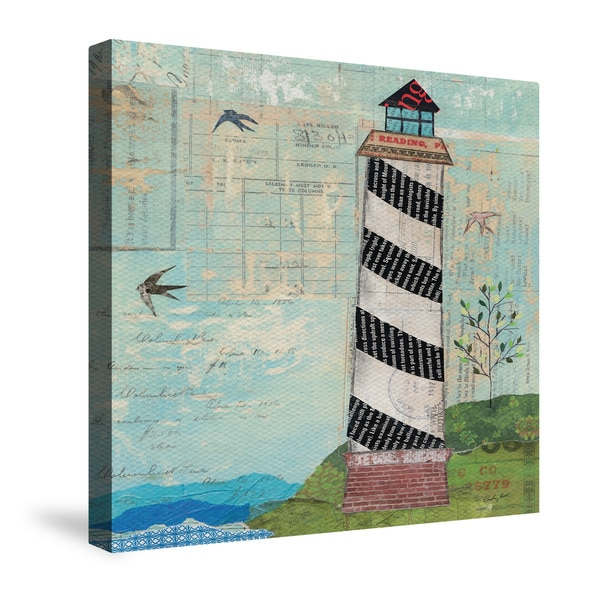 Laural Home Coastal Lighthouse Canvas Wall Art