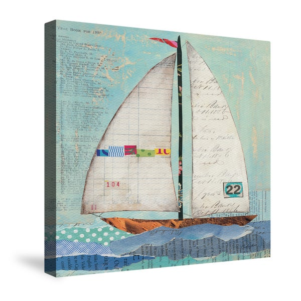 Laural Home At the Regatta Canvas Wall Art
