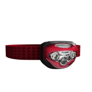 Energizer Vision HD Red LED Headlight