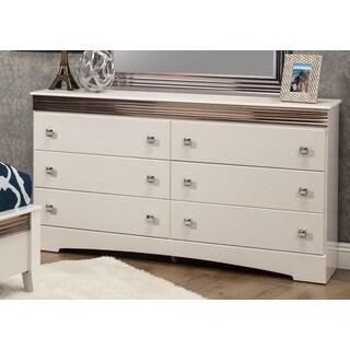 Sandberg Furniture Celeste 6 Drawer Dresser