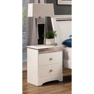 Sandberg Furniture Celeste 2 Drawer Nightstand