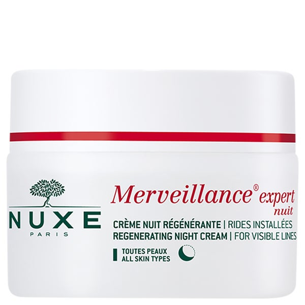Nuxe Anti-Wrinkle 1.7-ounce Night Cream Merveillance Expert