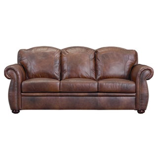 Bombay Camrose Leather Sofa