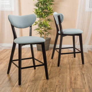 Christopher Knight Home Ferra Fabric Counter Stool (Set of 2)