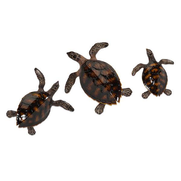 Swanson Sea Turtle Wall Decor (Set of 3) 18337268