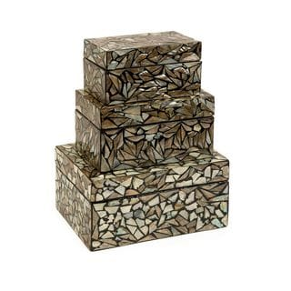 Neal Mother of Pearl Boxes (Set of 3)