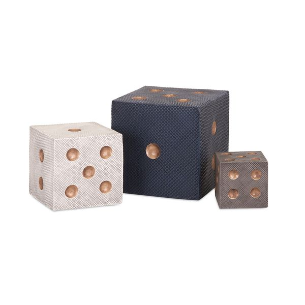 Beth Kushnick Decorative Dice (Set of 3)